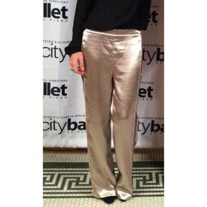 H&M Shiny metallic look pants